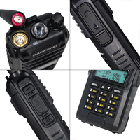 "baofeng uv 2020 Baofeng A58S Tri-Band 8W מכשיר הקשר 3800mAh נייד CB Ham Radio 10 ק""מ FM משדר לשדרג UV-82hp שני הדרך רדיו UV82 (4)"