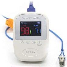 Wondcon ветеринарный ЖК-дисплей Ручной пульсоксиметр PR SPO2 Пульс частота bluetooth Монитор