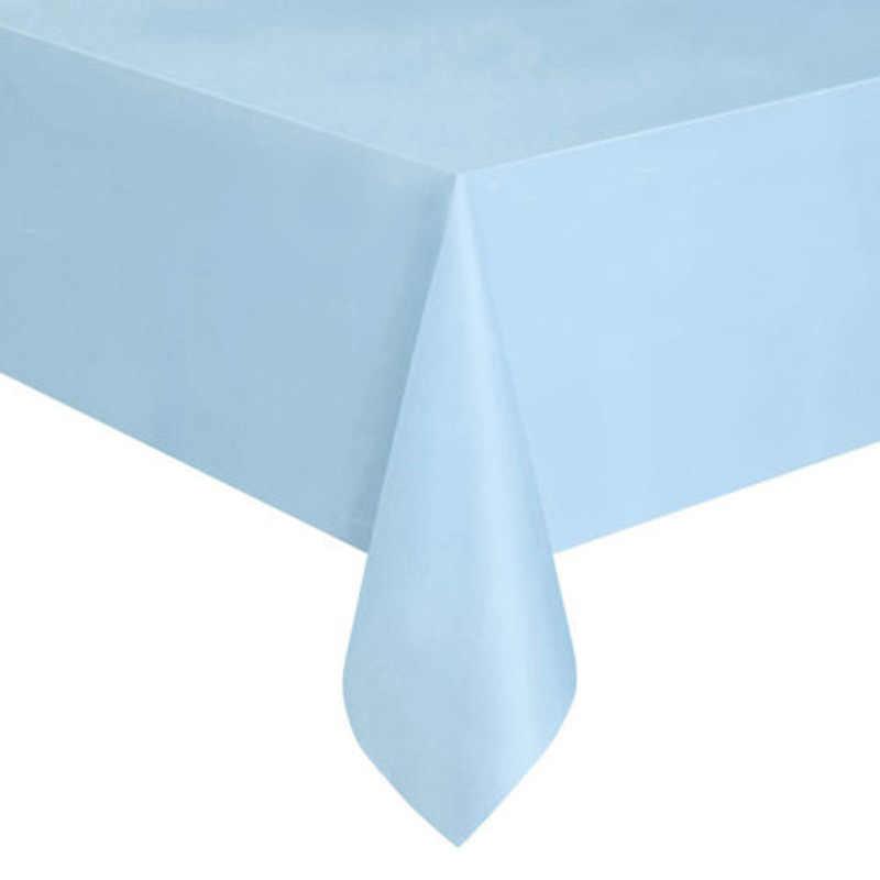 ידידותי לסביבה חד פעמי פלסטיק מסיבת חתונה מפת שולחן סט קייטרינג ארוחת כלי שולחן LY005