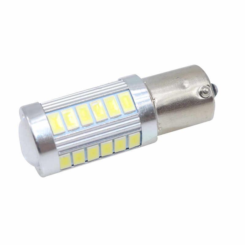 20 Chiếc 1156 BA15S P21W 33 LED 5630 SMD Xe Đuôi Bóng Đèn Phanh Đèn Tự Động Chạy Ban Ngày Ánh Sáng Ngược Đèn trắng Đỏ Vàng