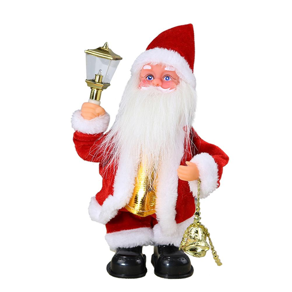 Electric Santa Claus Toys Bell Dancing Doll Christmas Decor For Home With Light Fashionable Liberal And Lovely Appearance