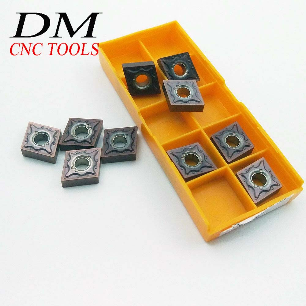 10pcs CNMG431MA <font><b>CNMG120404</b></font>-MA <font><b>VP15TF</b></font> High quality machining lathe CNC carbide Turning blade High cost performance ratio image
