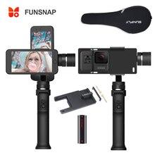 Funsnap จับแกน 3 มือถือ Gimbal Stabilizer Funsnap จับ 2 สำหรับ iPhone Samsung HuiWei โทรศัพท์สมาร์ท