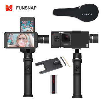 Funsnap Capture 3 Axis Handheld Gimbal Stabilizer Funsnap Capture 2 for iPhone Samsung Huiwei Smart Phones - DISCOUNT ITEM  10% OFF All Category