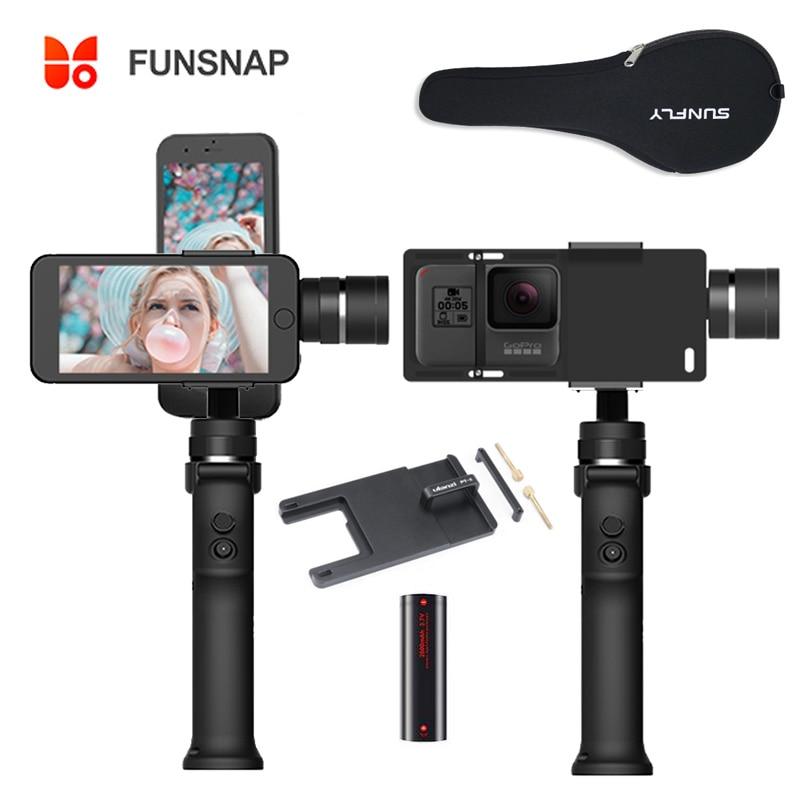 Funsnap Capture 3 axes stabilisateur de cardan de poche Funsnap Capture 2 pour iPhone Samsung Huiwei téléphones intelligents