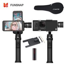Funsnap Cattura 3 Assi Handheld Gimbal Stabilizzatore Funsnap di Acquisizione 2 per il iPhone Samsung Huiwei Smart phone