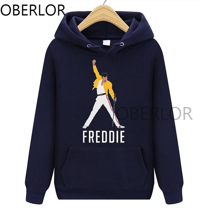 Freddie Mercury Hoodie Graphic Women Clothes 2020 Femme Hip Hop Rock Autumn Sweatshirts Tops Female Clothing Streetwear 2