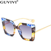 Oversized Square Sunglasses Women 2020 Gradient Vintage