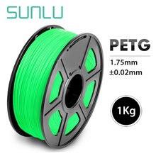 Нить для 3d принтера sunlu petg 175 мм 1 кг/22 фунта с катушкой