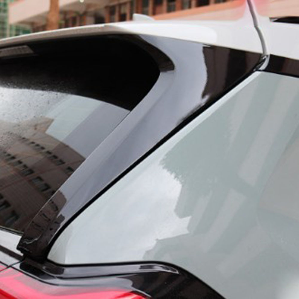 For Toyota <font><b>Rav4</b></font> <font><b>2020</b></font> Rear Tail Triangle Window Trim Cover ABS Chrome Car Exterior Modification Accessories image