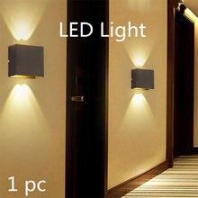 Светодиодный настенный светильник ip65 водонепроницаемый алюминиевый