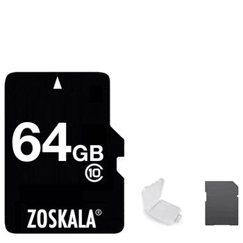 Real 64Go Pass H2testw Genuine Full Capacity 32GB 16GB TF Memory Micro SD Card Class 10 C6 Flash Cards for Tablet Smartphones image