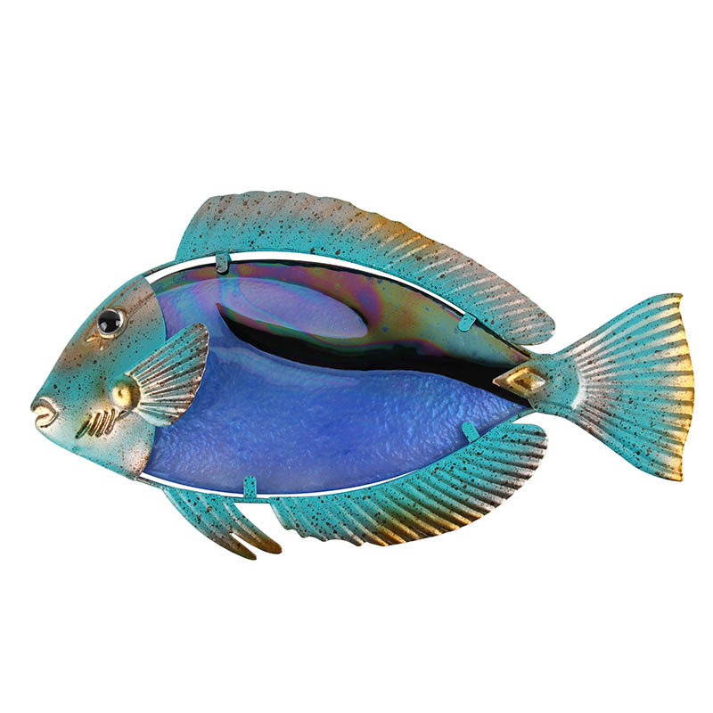 Home Decor Fish Wall Artwork For Garden Sculpture Decoration Animales Jardin Statues And Jardineria Fairy