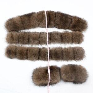 Image 4 - OFTBUY X long Parka Waterproof Outerwear Real Fur Coat Winter Jacket Women Natural Fox Fur Hood Luxury Outerwear Detachable New