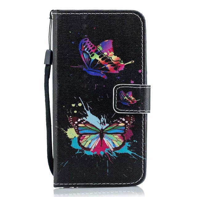 Flower Leather Flip Cover For Samsung Galaxy A10 A10S A20 A20S A20E A30 A30S A40 A40S A50 A50S A51 A71 A70 A01 A21 Wallet Case