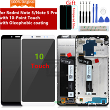 Original for Xiaomi Redmi Note 5 Pro LCD Display 10 Touch Screen Digitizer assembly With Frame for Redmi Note 5 LCD Repair Parts