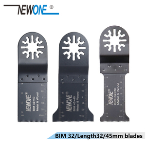Image 3 - NEWONE 3pc HCS/Japan teeth/BIM Universal Oscillating MultiTool saw blades fit for Makita,AEG,Fein and most brands of multi tool