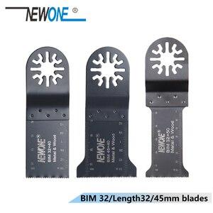 Image 3 - NEWONE 3pc HCS/Japan zähne/BIM Universal Oszillierende MultiTool sägeblätter fit für Makita,AEG, fein und die meisten marken von multi werkzeug