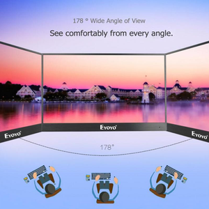 "Image 3 - Eyoyo EM13E 13.3 ""Tragbare Monitor IPS FHD 1080P LCD Screen USB C HDMI Laptop Zweite Display für PC laptop Handy Xbox Schalter PS4"