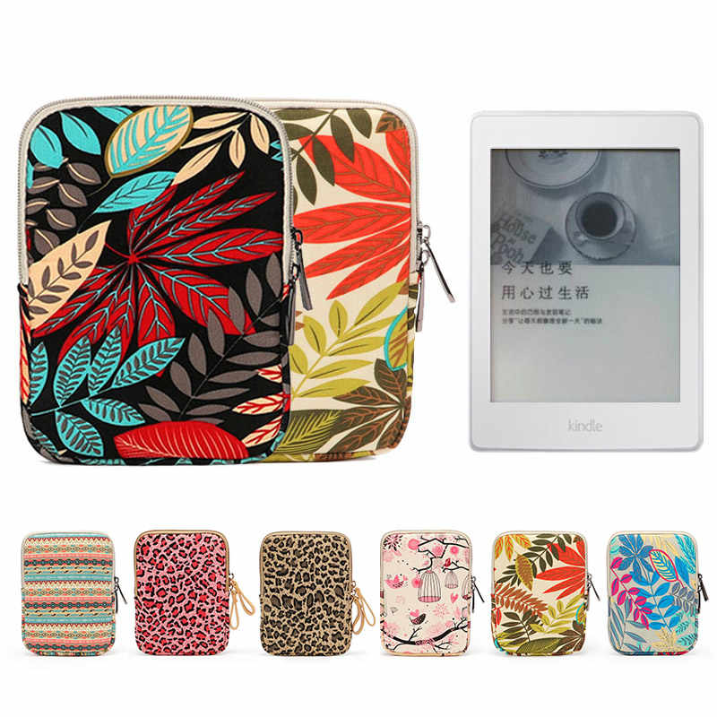 Bolsa a prueba de golpes de 6 pulgadas para Kindle 2019 10th Case para Amazon 2018 Paperwhite 4 3 2 1 8th ebook funda para bolsa de bolsillo