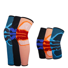 1 Piece Knee Brace Compression Support Elastic Crossfit Pad Patella Running Basketball Squat Safety Sleeve