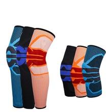 1 Piece Knee Brace Compression Knee Support Elastic Crossfit Brace Knee Pad Patella Running Basketball Squat Safety Knee Sleeve цена