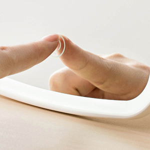 Image 4 - Оригинальное умное портативное зеркало для макияжа Youpin, настольное светодиодсветильник щение, портативное складное светильник для спальни
