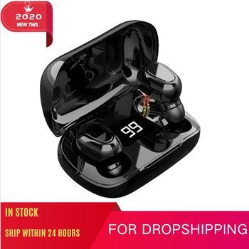 2020 New Original Ture Wireless Earbuds Bluetooth Headphones TWS Pro 2 3 4 Sport Headset Bass Earphone VS Air Pro With Mic Elari