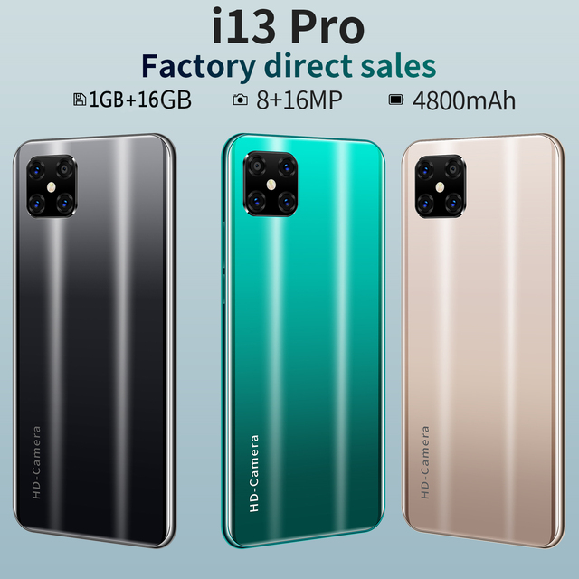 New Arrived SOYES i13 Pro Smartphone,Cheaper Dual SIM Card Mobile phone,5.7 inch Full Screen 16GB 4800mAh Cellphone 5