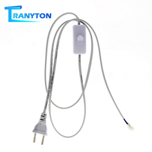 Switch-Connector Extension-Cable Led-Tube Led-Bar-Lights Power-Wire Electrical-Cords