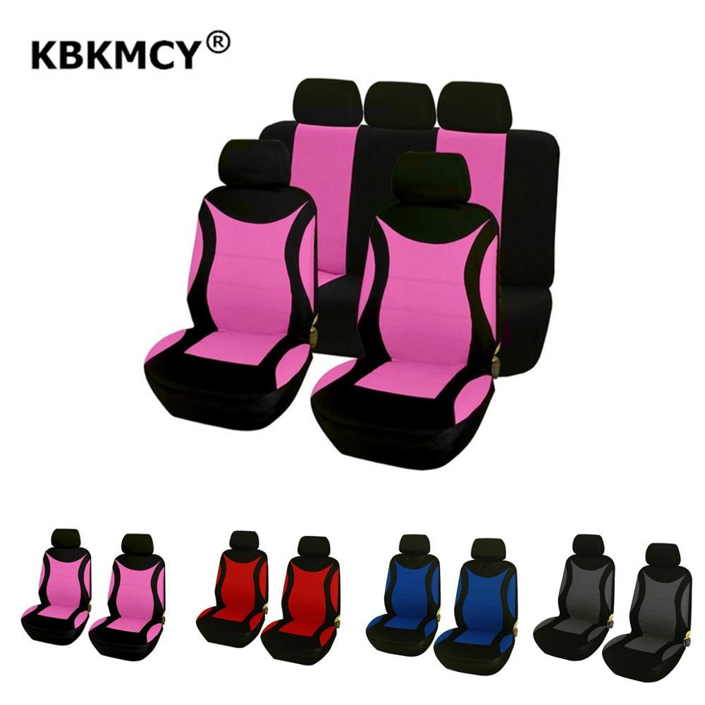 Чехлы на сиденья KBKMCY для мужчин и женщин, чехлы для Daewoo, matiz, gentra, nexia, черные, розовые