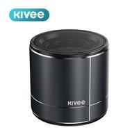 Kivee-minialtavoz portátil MW02 de Metal, reproductor de música inalámbrico con Bluetooth, resistente al agua, para llamadas al aire libre, para iPhone, Xiaomi y Huawei