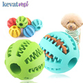Haustier Hund Spielzeug Extra tough Rubber Ball Spielzeug Lustige Interaktive Elastizität Ball Hund Kauen Spielzeug Für Hund Zahn Reinigung ball Von Lebensmittel-in Hundespielzeug aus Heim und Garten bei