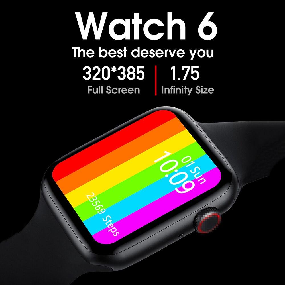 1 75inch IPS screen ECG Bluetooth Call IP68 Waterproof Smart Watch Men Women for iwo w26 smartwatch better than iwo 11 12 pro 13