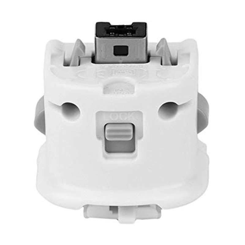 Tüketici Elektroniği'ten Yedek Parçalar ve Aksesuarlar'de Motion Plus Motionplus adaptör sensörü Nintendo Wii uzaktan kumanda için oyunlar title=