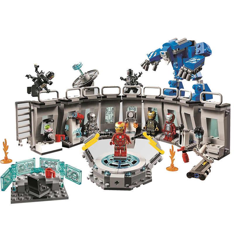 アベンジャーズ 4 Endgame 究極 Quinjet セット Legoings 76107 76108 76123 76125 76126 76131 10840 ビルディングブロックレンガのおもちゃ