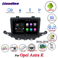 Liandlee Car Android System For Opel Astra K 2016~2018 Radio AUX Mirror link GPS Navi Navigation HD Stereo Multimedia No CD DVD