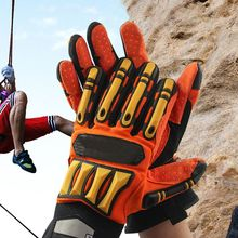 High Quality nti-collision Wear-resistant Non-slip Oil Proof Shockproof Hand Protection Safety Work Gloves Mechanical