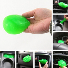 Green Clean Glue For Car Air Outlet Vent/ Dashboard/ Conditioner/ Interior& Exterior Decorating Dust Removal