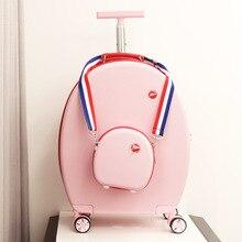 """CARRYLOVE 2"""" дюймовый Спиннер для девушек маленькая Дорожная сумка на колесиках набор для переноски чемодана милый багаж на колесах"""