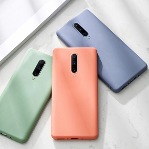 Soft Silicone Case For Oneplus 7 Pro 7T 6T 6 7Pro T Shockproof Silicon Back Cover One Plus 7 7T Case Oneplus7 Case Oneplus6 Case(China)