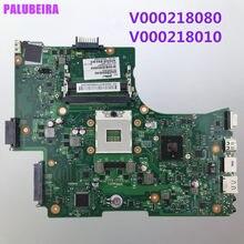Palubeira placa-mãe do portátil para toshiba l650 l655 v000218080 v000218010 hm55 uma placa principal ddr3 100% testado
