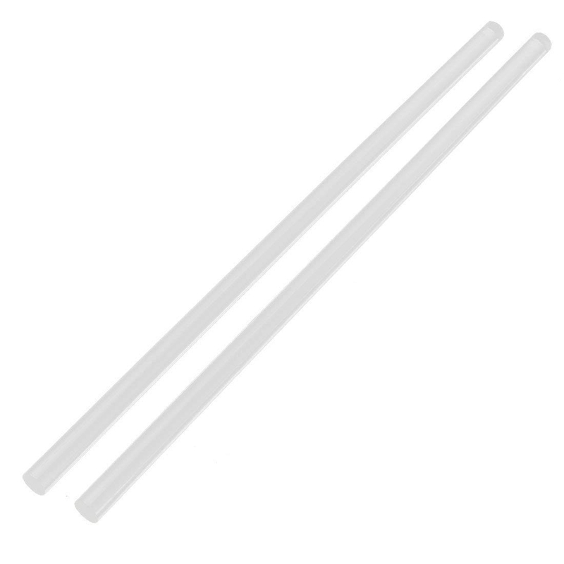 3Mmx250Mm Round Shape Solid Acrylic Rod Pmma Extruded Bar Clear 2Pcs