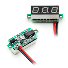 1pcs 0.28 Inch Digital LED Mini Display Module DC2.5V-30V DC0-100V Voltmeter Voltage Tester Panel Meter Gauge Motorcycle Car