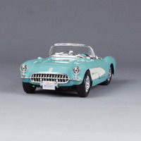 1:24Metal Model Chevrolet 1957 Classic Car Vintage Automobile Toy Vehicle High Simulation Diecast Decoration collection for kid