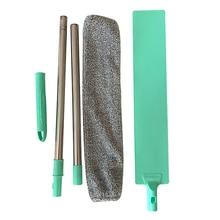 Bedside Dust Brush Long Handle Mop Reusable Microfibre Duster Sweeping Brush