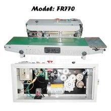 220V/110V Plastic bag sealing machine, electrical impulse sealer, constant heat automatic aluminum foil package sealer FR900
