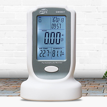 Air quality Tester Formaldehyde Detector Meter HCHO TVOC Electrochemical Sensor LCD Display Charging Portable Gas Analyzers