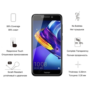 Image 4 - For Huawei Honor 6C Pro Glass Premium 2.5D Tempered Glass Screen Protector For Huawei Honor 6C Pro Protective Glass