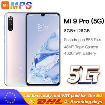 Xiaomi Mi 9 pro (5G) 8GB 128GB Smartphone Mi9 pro 5G Snapdragon 855plus 5G 48MP Triple Cameras 4000mAh Battery AMOLED 6.39 ''